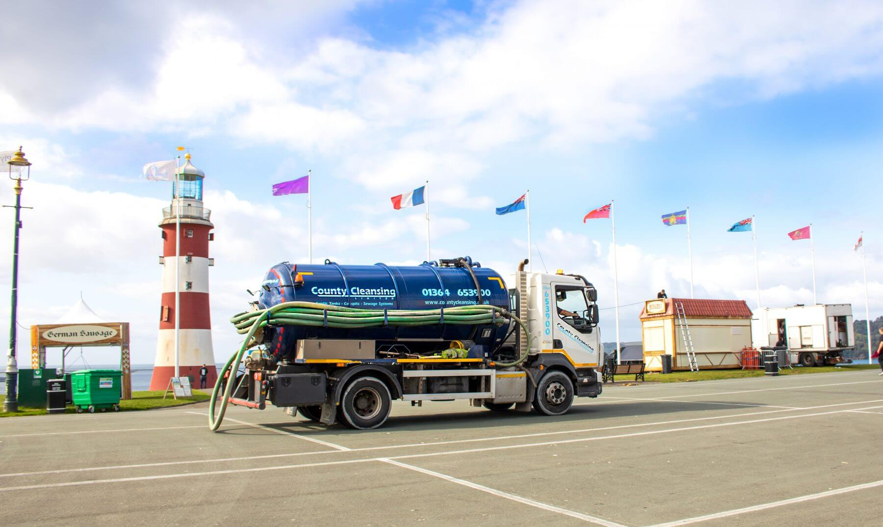 Septic Tank Emptying provided by County Cleansing Limited